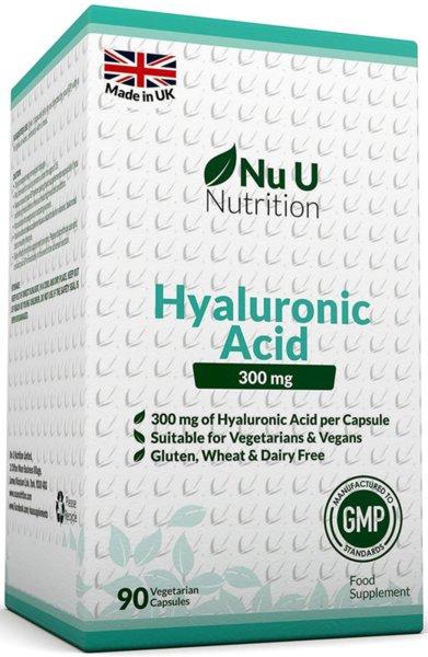 Хиалуронова Киселина 300 мг -I Nu U Nutrition на топ цена